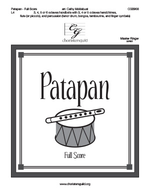 Patapan - Full Score