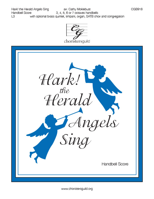 Hark! the Herald Angels Sing - Handbell Score