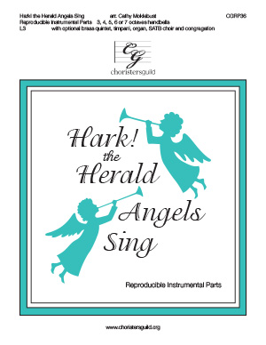 Hark! the Herald Angels Sing - Reproducible Instrumental Parts