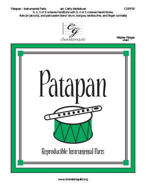 Patapan - Reproducible Instrumental Parts