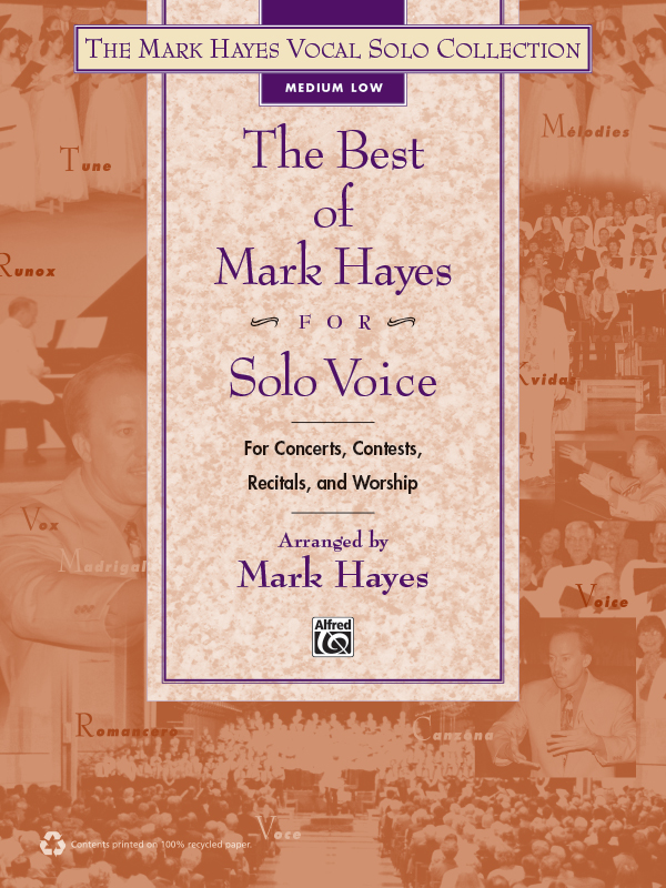 The Best of Mark Hayes for Solo Voice (Medium/Low)