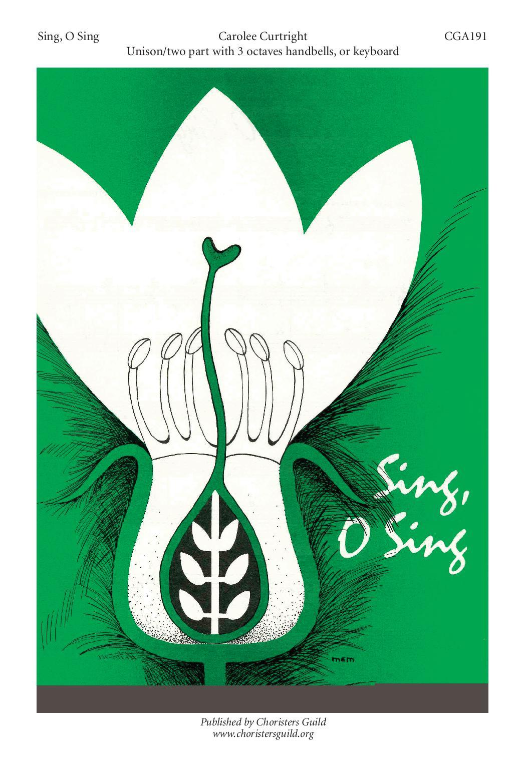 Sing, O Sing