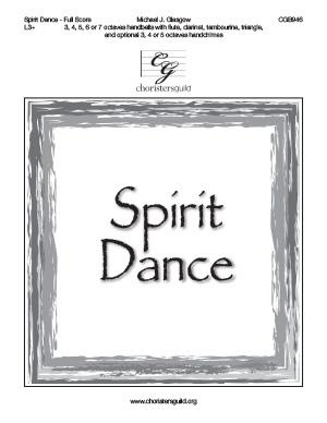 Spirit Dance - Full Score