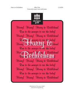 Hurry to Bethlehem