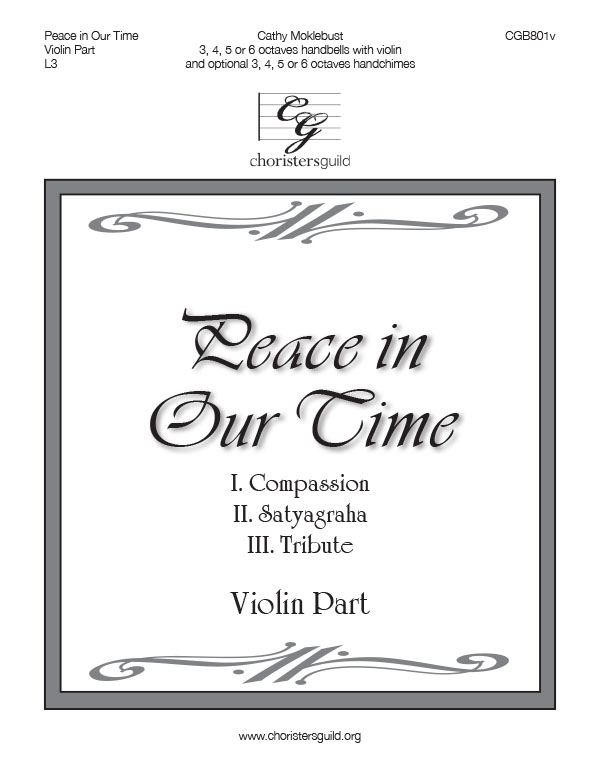 Peace in Our Time - Violin Part