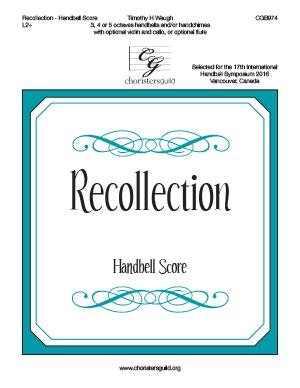 Recollection - Handbell  Score