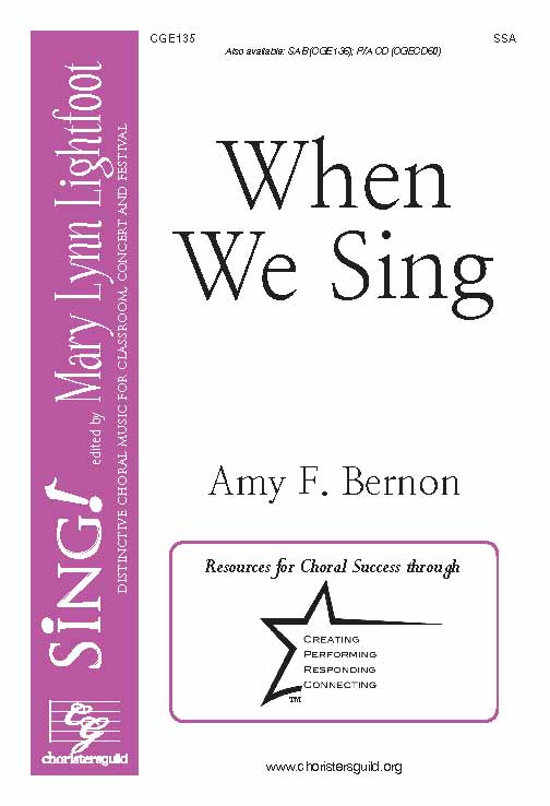 When We Sing (SSA)
