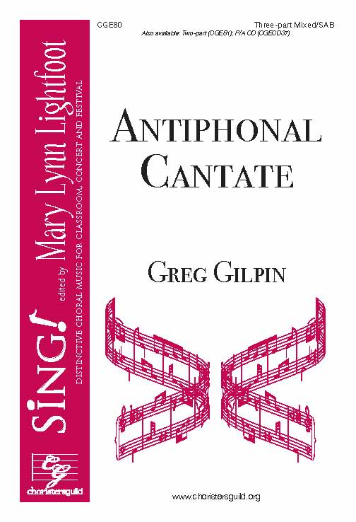 Antiphonal Cantate (Three-part Mixed/SAB)