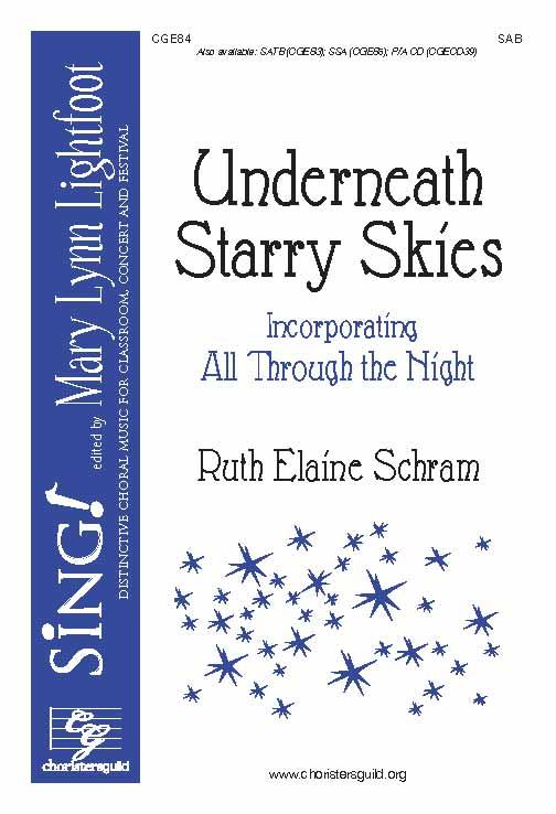 Underneath Starry Skies (SAB)