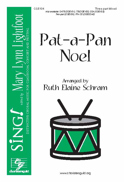 Pat-a-Pan Noel (Three-part Mixed)