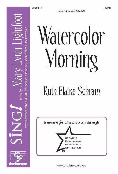 Watercolor Morning (SATB)