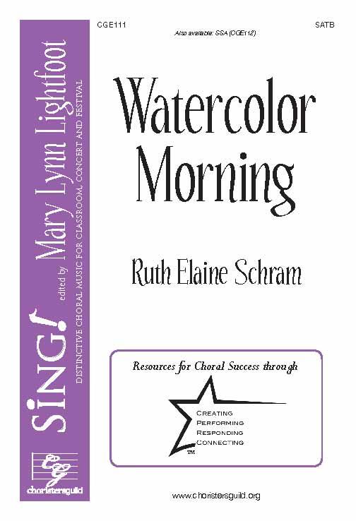 Watercolor Morning (SATB)