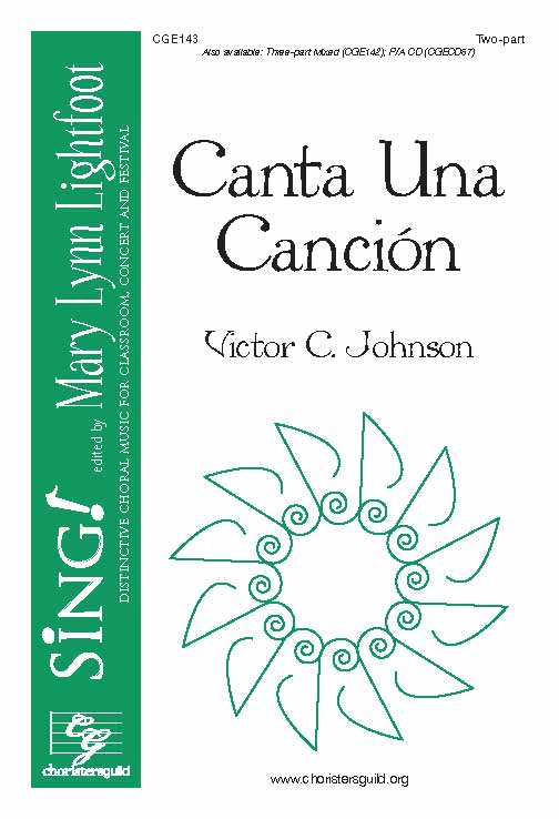 Canta Una Cancion (Two-part with Descant)