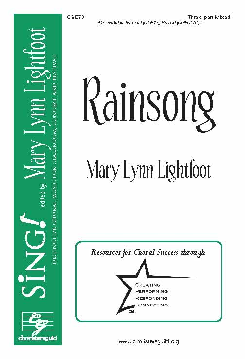 Rainsong (Three-part Mixed)