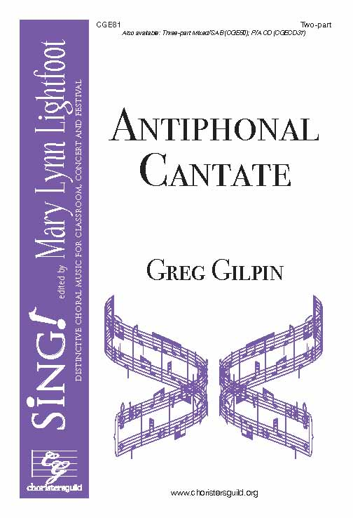 Antiphonal Cantate (Two-part)
