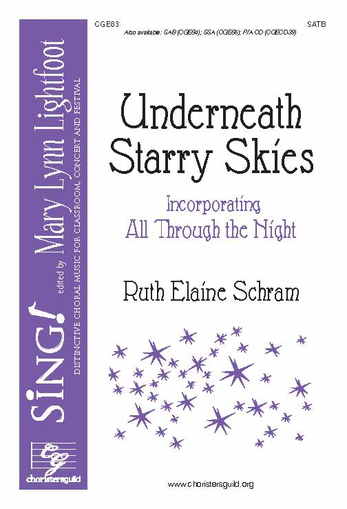 Underneath Starry Skies (SATB)