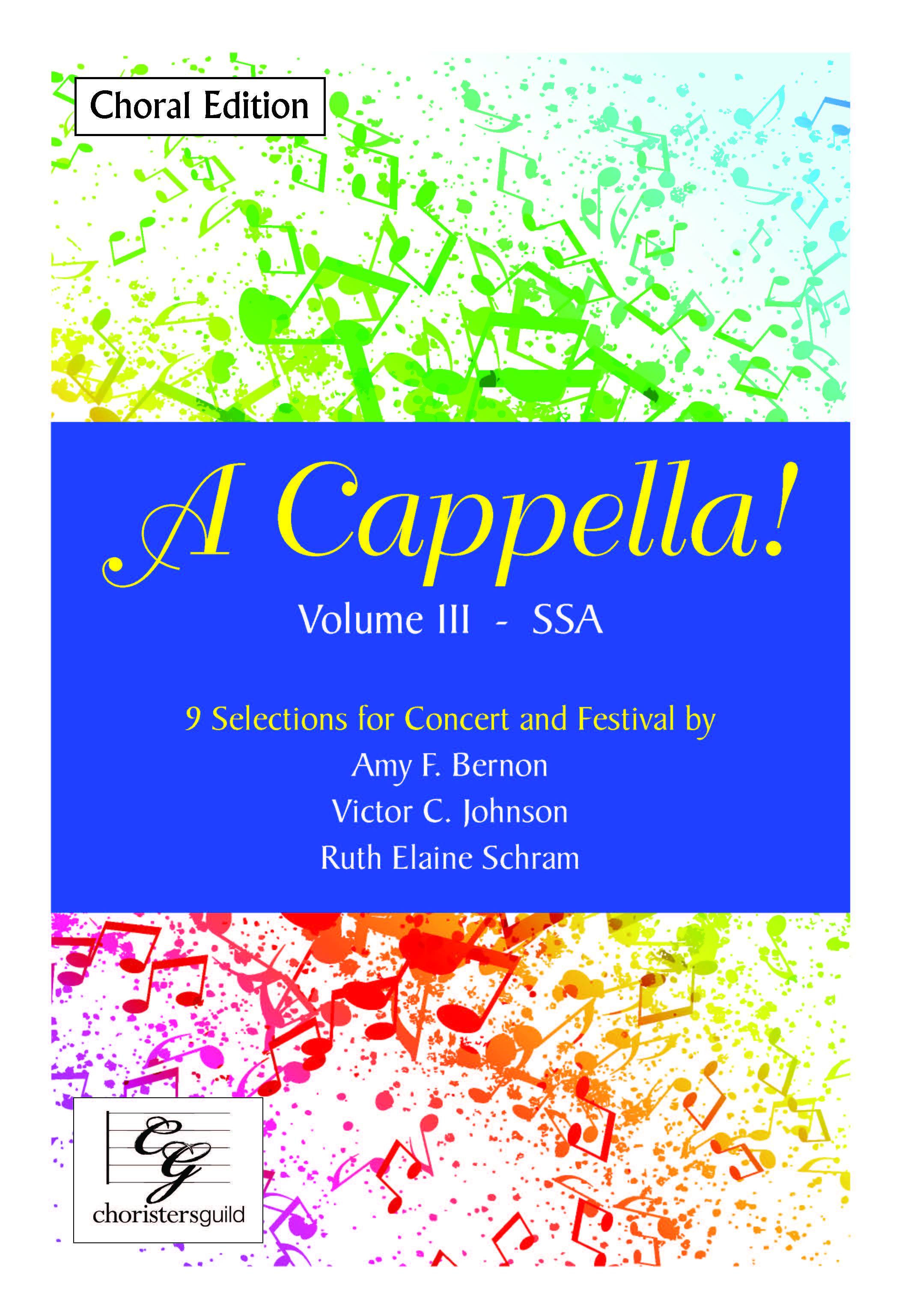 A Cappella! Volume I - Two-part Treble Choral Edition