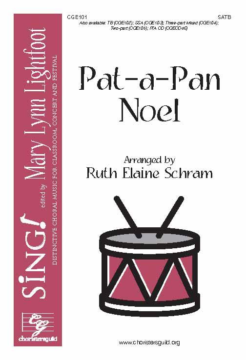Pat-a-Pan Noel (SATB)