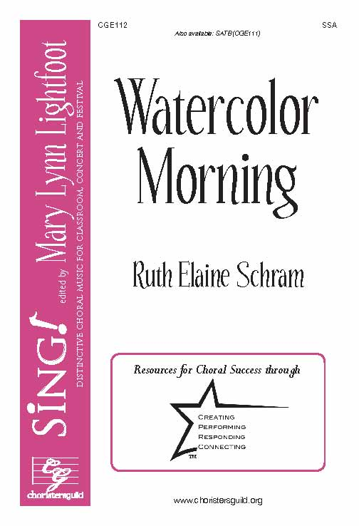 Watercolor Morning (SSA)
