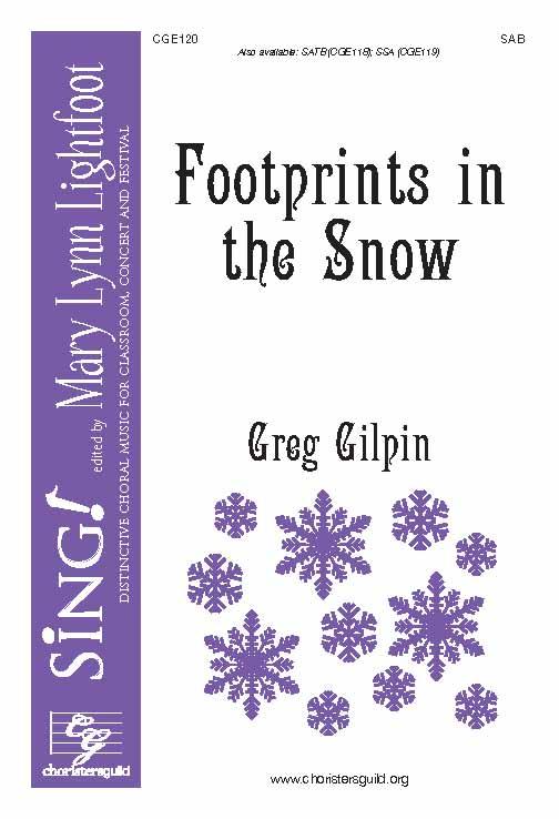 Footprints in the Snow (SAB)