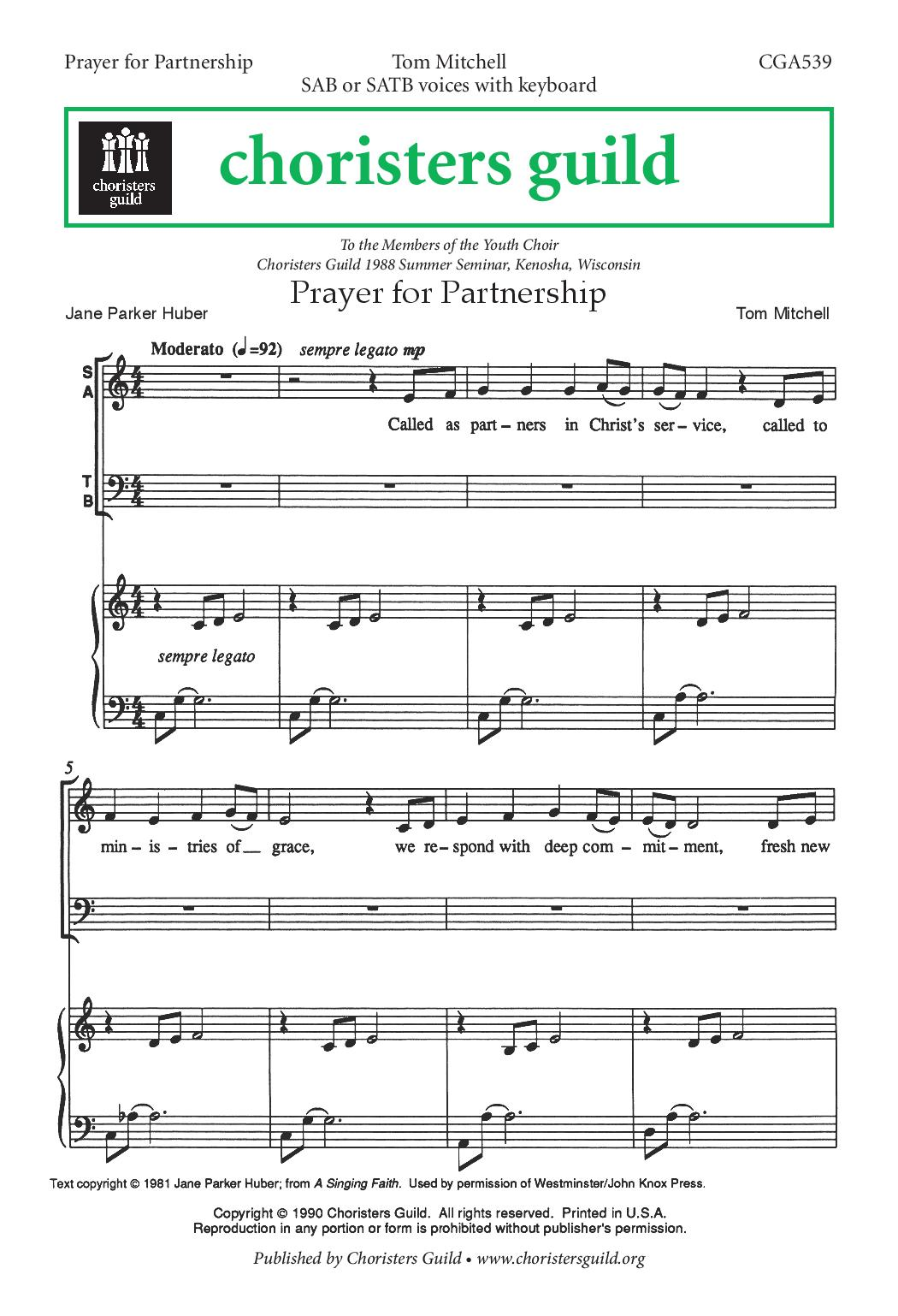 Prayer for Partnership