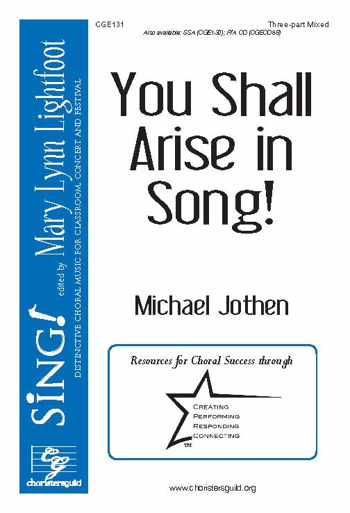 You Shall Arise in Song! (Three-part Mixed)