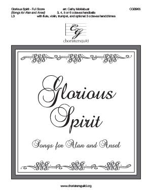 Glorious Spirit - Full Score