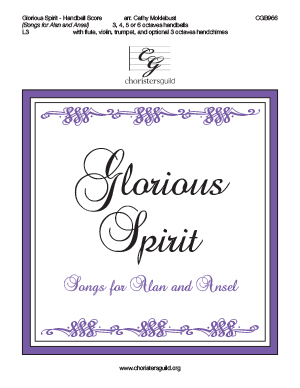 Glorious Spirit - Handbell  Score