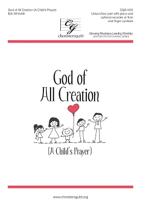 God of All Creation (A Child's Prayer) Accompaniment Track