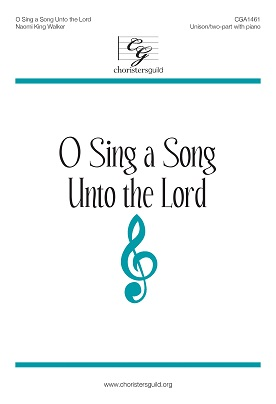 O Sing a Song Unto the Lord (Accompaniment Track)