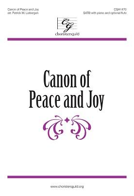 Canon of Peace and Joy Accompaniment Track