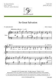 So Great Salvation Audio Download