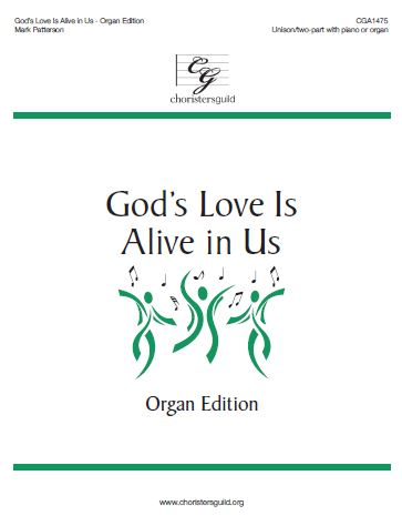 God's Love Is Alive in Us - Organ Score