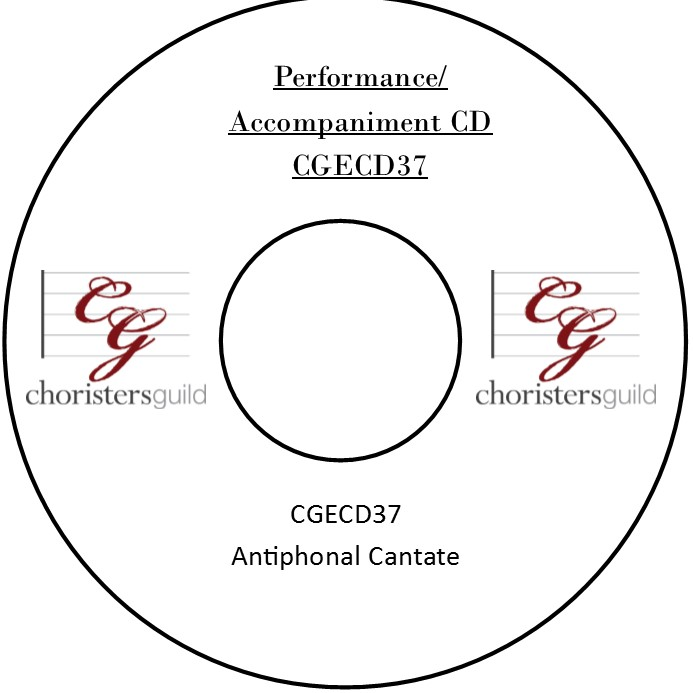 Antiphonal Cantate (Performance/Accompaniment CD)