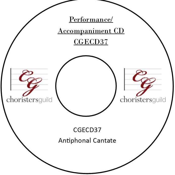 Antiphonal Cantate (Performance/Accompaniment CD)