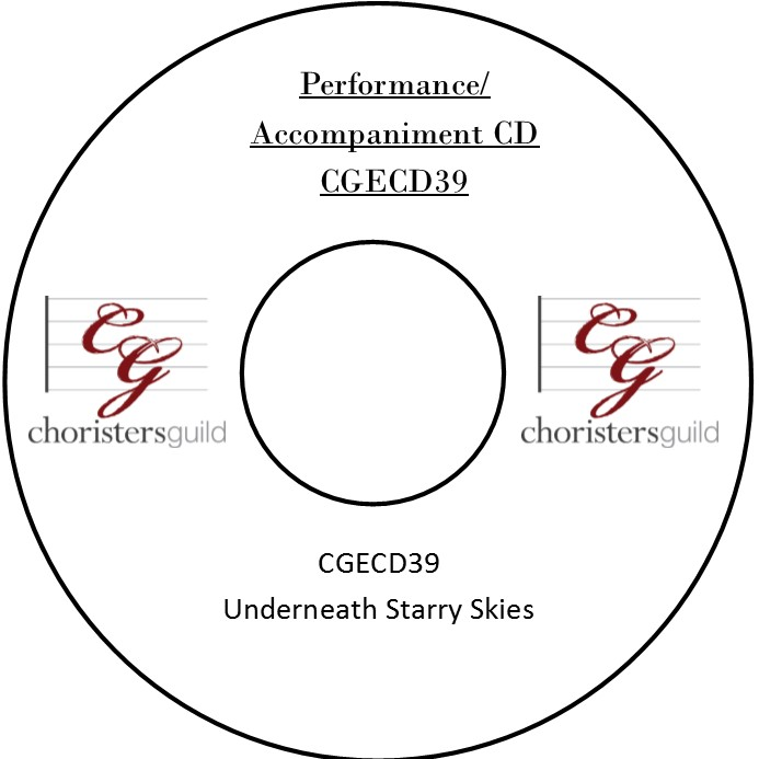 Underneath Starry Skies (Performance/Accompaniment CD)