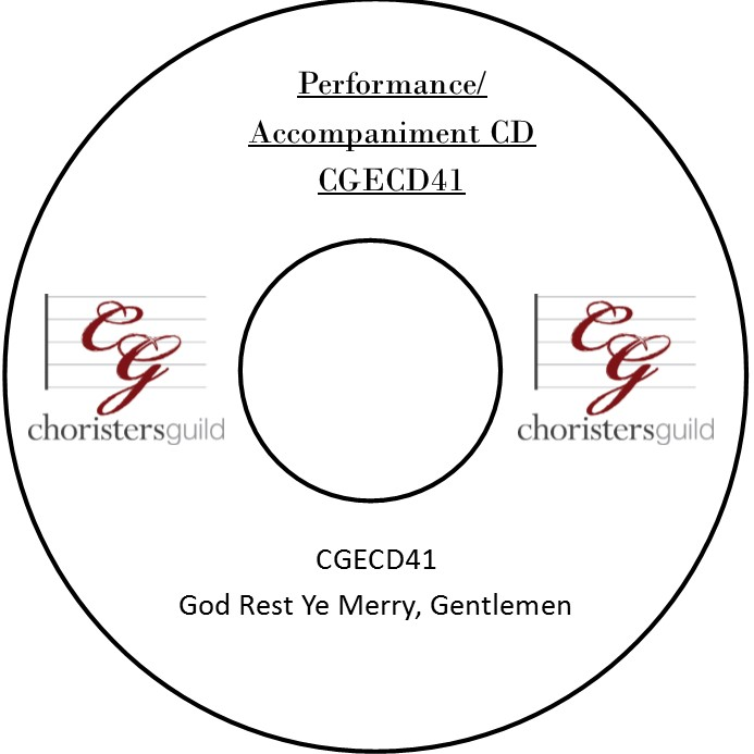 God Rest Ye Merry, Gentlemen (Performance/Accompaniment CD)