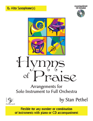Hymns of Praise - Eb Alto Saxophone(s) (with CD)