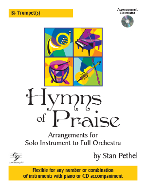 Hymns of Praise - Bb Trumpet(s) (with CD)