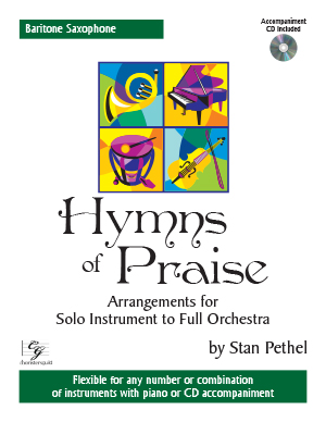 Hymns of Praise - Baritone Saxophone (with CD)