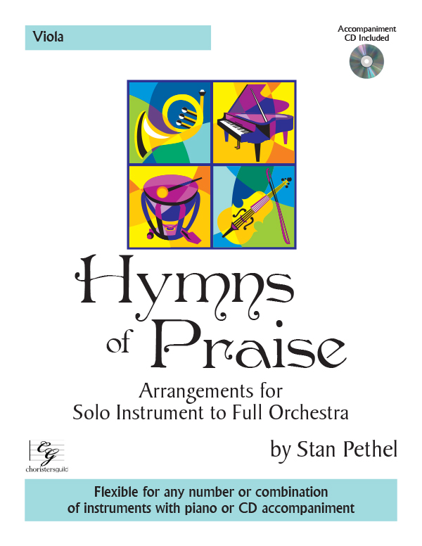 Hymns of Praise - Viola (with CD)