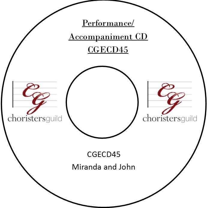 Miranda and John (Performance/Accompaniment CD)