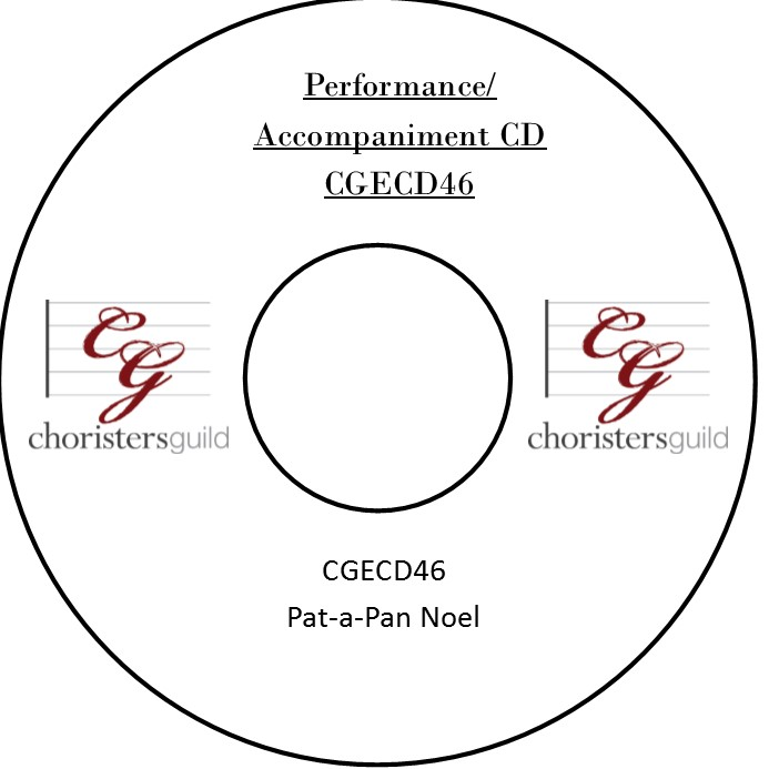 Pat-a-Pan Noel (Performance/Accompaniment CD)