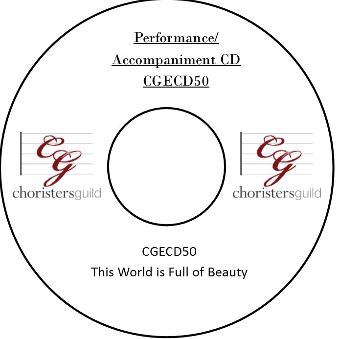 This World Is Full of Beauty (Performance/Accompaniment CD)