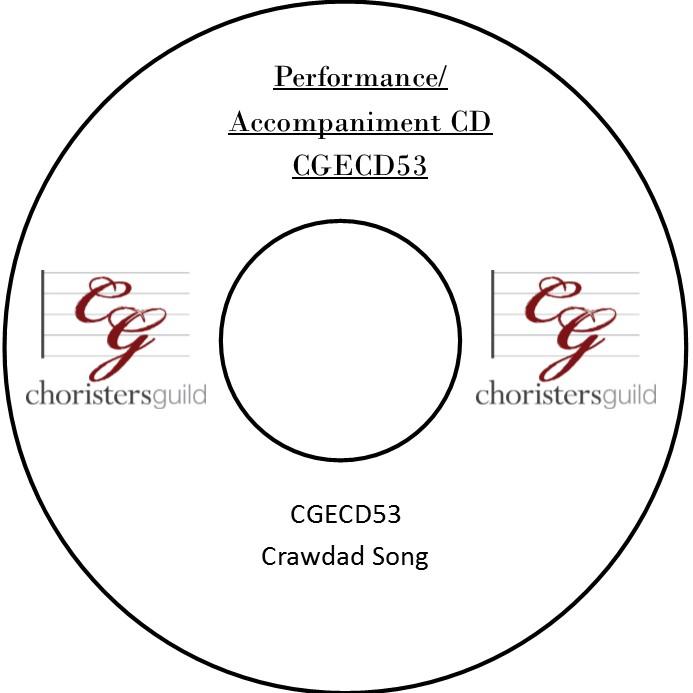 Crawdad Song (Performance/Accompaniment CD)