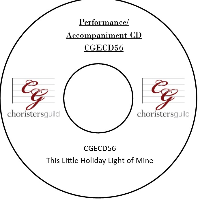 This Little Holiday Light of Mine (Performance/Accompaniment CD)