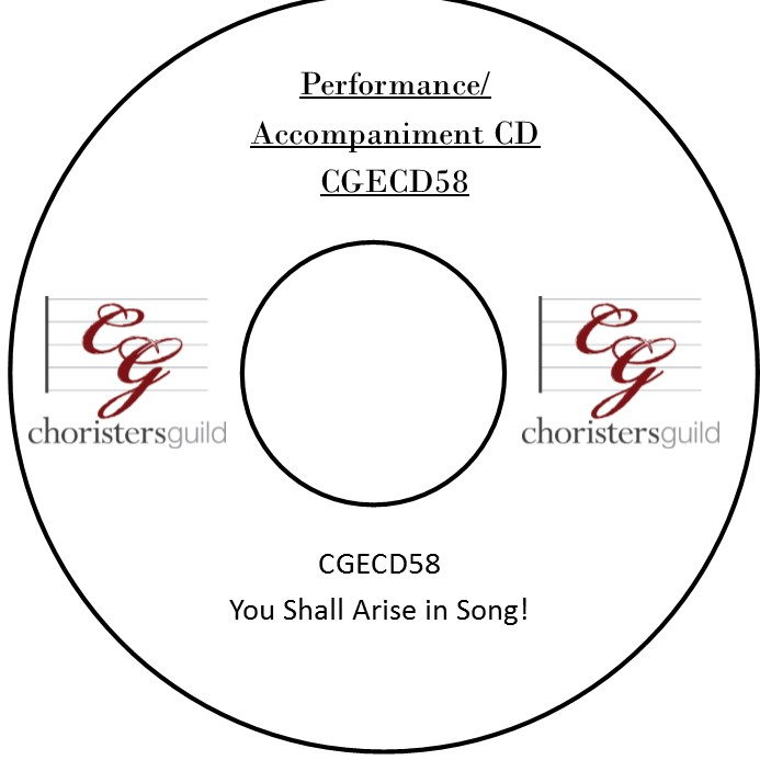 You Shall Arise in Song! (Performance/Accompaniment CD)