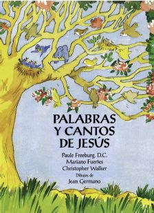 Palabras y Cantos de Jesus - Activity/Coloring Books