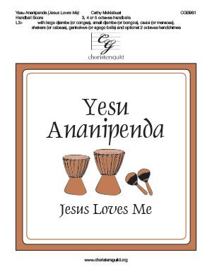 Yesu Ananipenda (Jesus Loves Me) - Handbell  Score