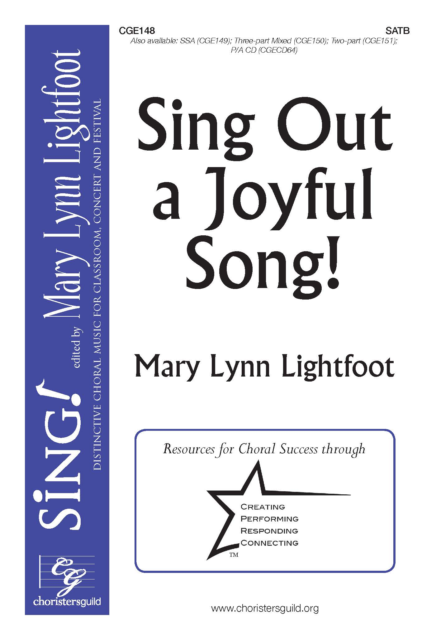 Sing Out a Joyful Song! SATB